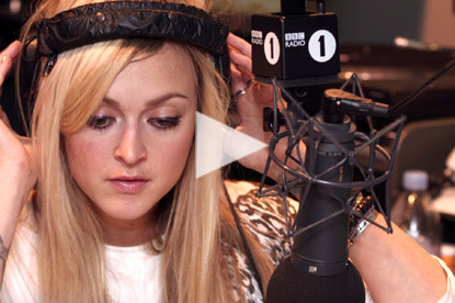 Fearne Cotton in BBC Radio 1 ad by Fallon