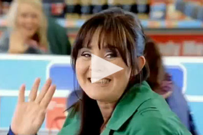Coleen Nolan in Iceland advert