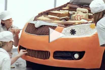 Skoda cake by Fallon London