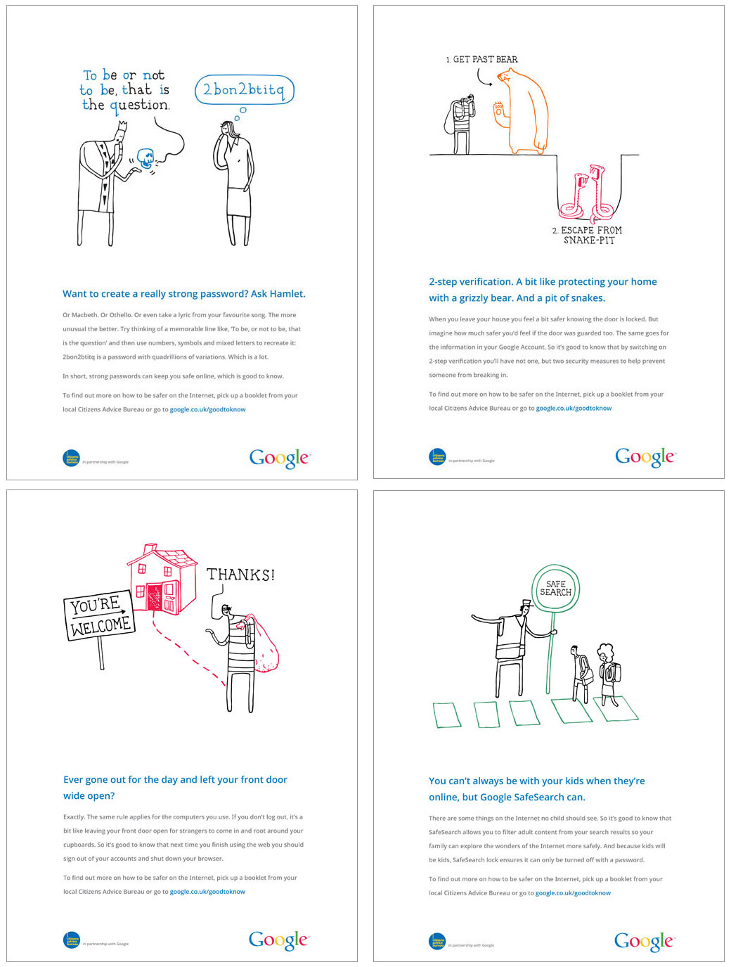 Google and Citizens Advice Bureau launch internet safety campaign