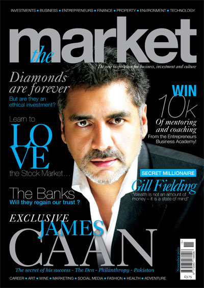Monthly business magazine launched with aid of James Caan