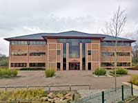 The Public Safety Trust's premises in Carlisle