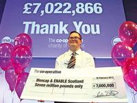 Mencap and Enable Scotland with The Co-operative