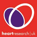 Heart Research UK's old branding