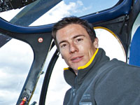 Superbike rider James Toseland