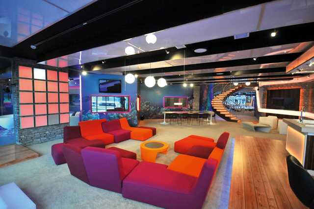 The Big Brother house in 2011