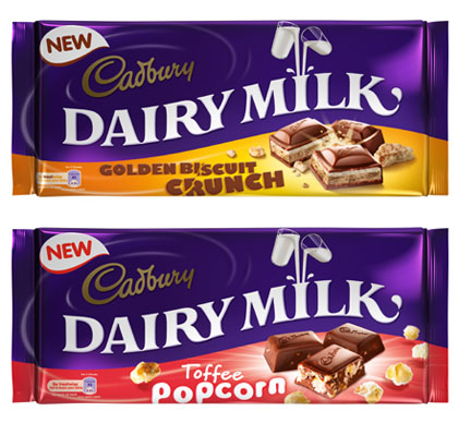 Cadbury launches two Dairy Milk bars via social media