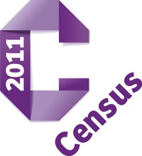 2011 census logo