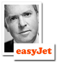 Peter Duffy, marketing director, easyJet