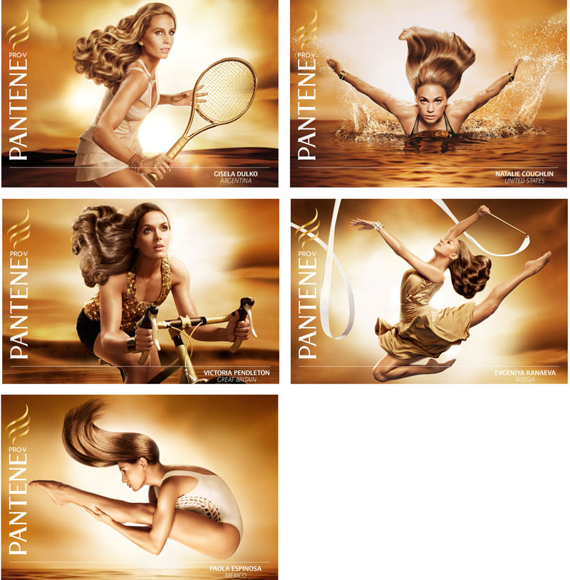 Pantene's London 2012 Olympic Games campaign