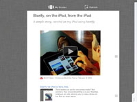 Storify on the iPad
