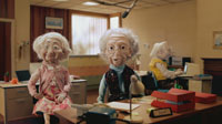Wonga.com ad featuring the 'Wongies'