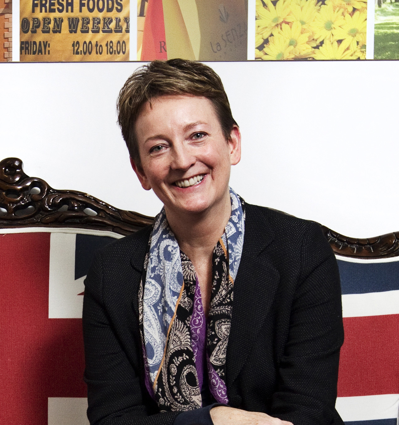 Sandie Dawe, chief executive, VisitBritain