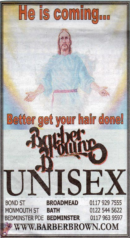 Barber Brown: Jesus ad passes ASA investigation