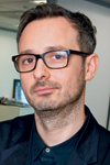 Justin Gibbons, creative director, Arena