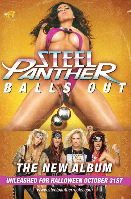 Steel Panther 'Balls Out' campaign