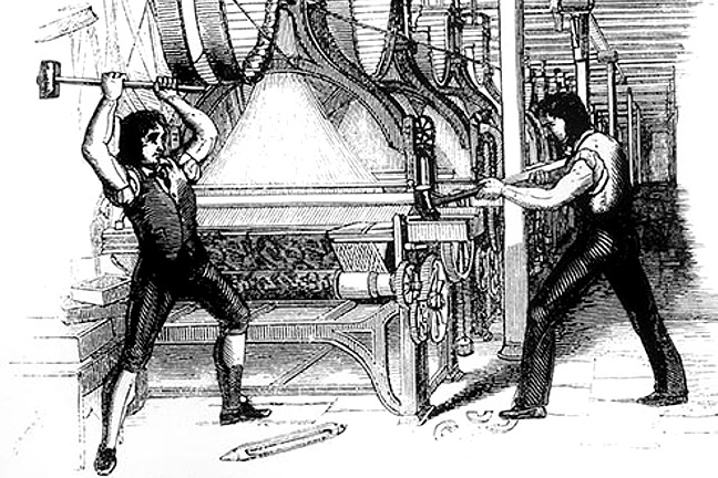 What if the Luddites were right?