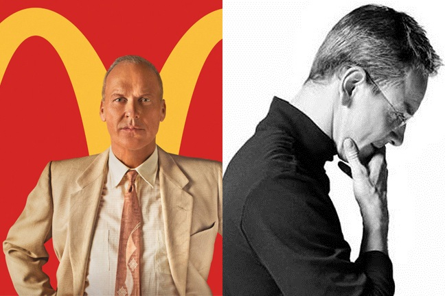 What connects Steve Jobs and Ray Kroc?