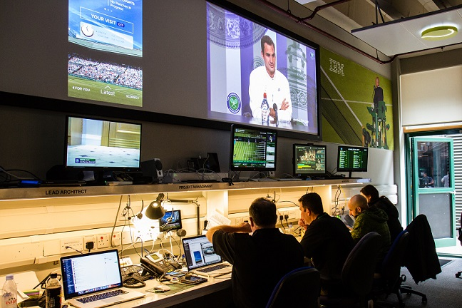 Inside Wimbledon's digital command centre