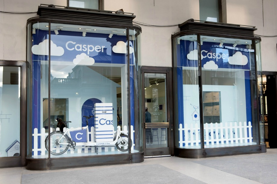 Casper launches 'dreamy' pop-up for sleep-deprived individuals