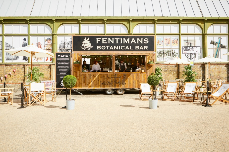 Fentimans to stage botanical pop-up bar tour