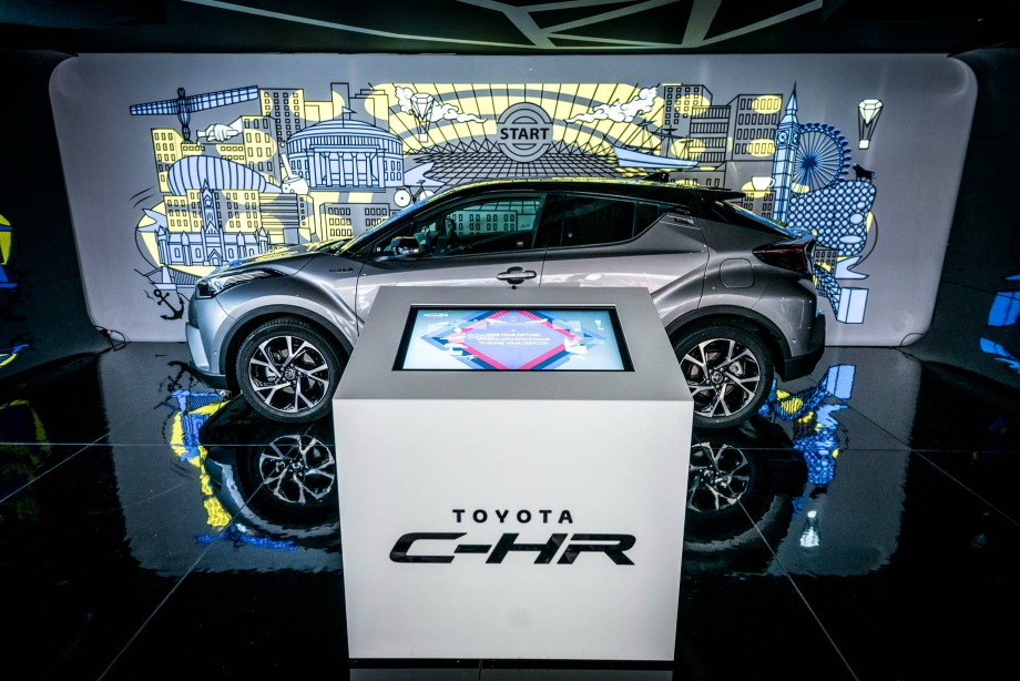 Toyota brings immersive pop-up to London's South Bank