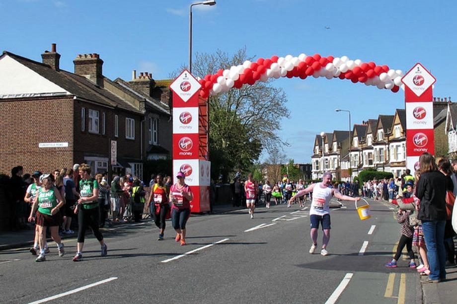 Virgin Money stages interactive fundraising lounge ahead of London Marathon