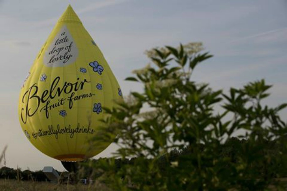 Belvoir Fruit Farms hosts balloon tour