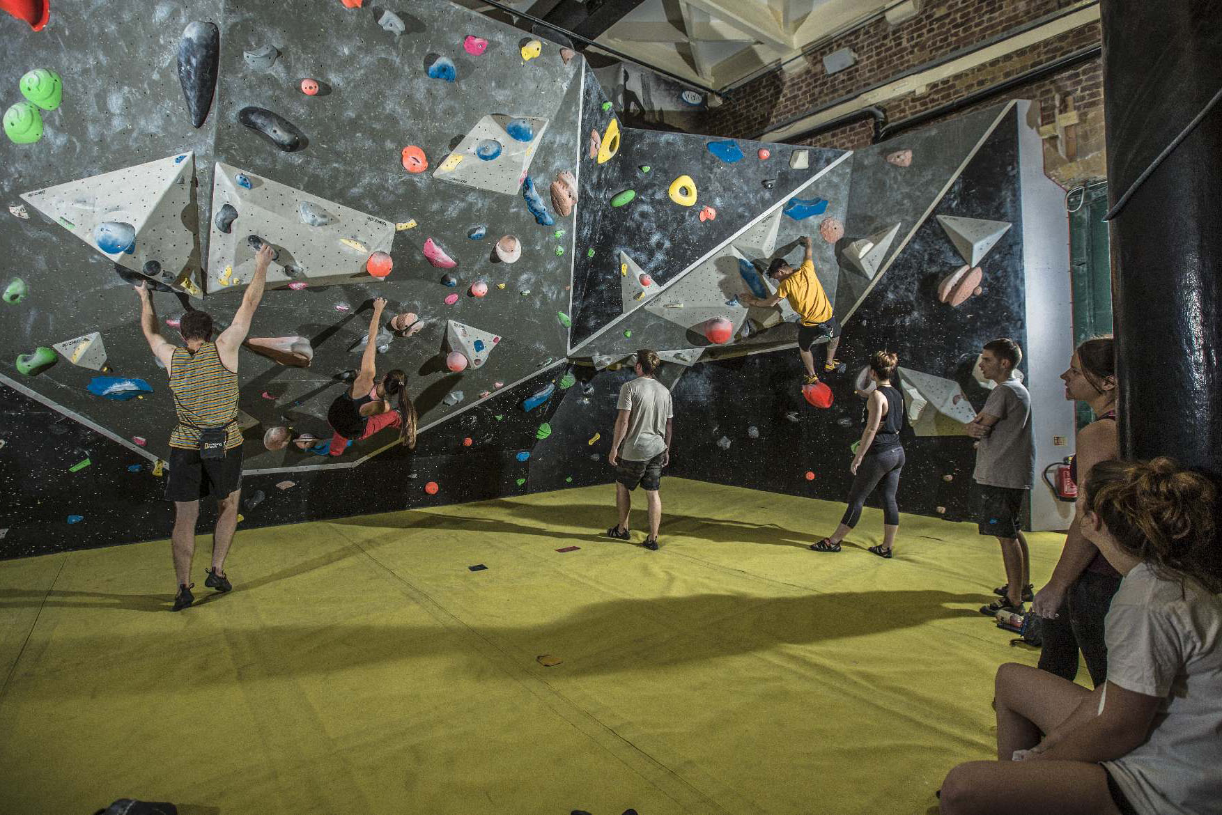 The North Face offers free climbing sessions