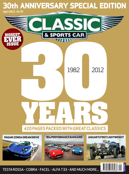 Classic & Sports Car publishes record issue