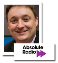Clive Dickens, chief operating officer, Absolute Radio