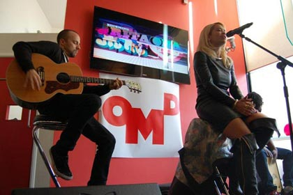 Rita Ora at OMD UK