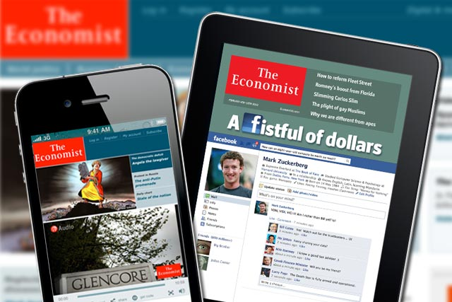 The Economist platforms