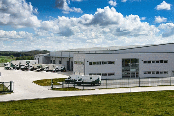 Healthcare Environmental Services' northern headquarters in Lanarkshire