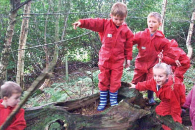 Enabling Environments: Forest schools - Talking trees