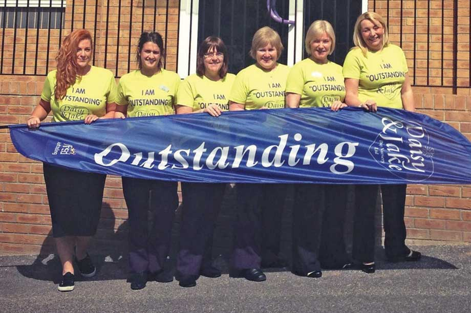 Wirral nurseries outstanding First